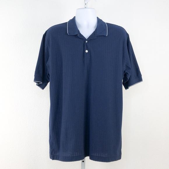 Nike Golf Dri Fit Navy Short Sleeve Polo Shirt